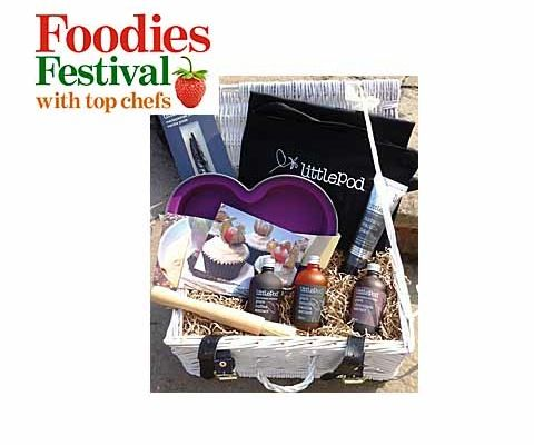 Win tickets to Foodies Festival & a LittlePod hamper  sweepstakes