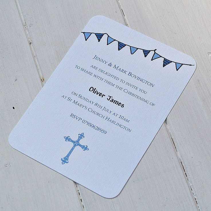 11 best christening themes images on Pinterest Christening themes - best of invitation card example