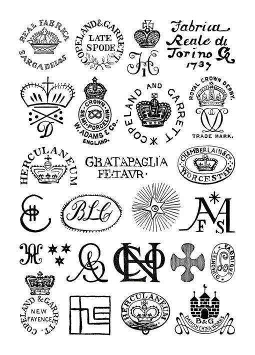 Antique Porcelain Marks