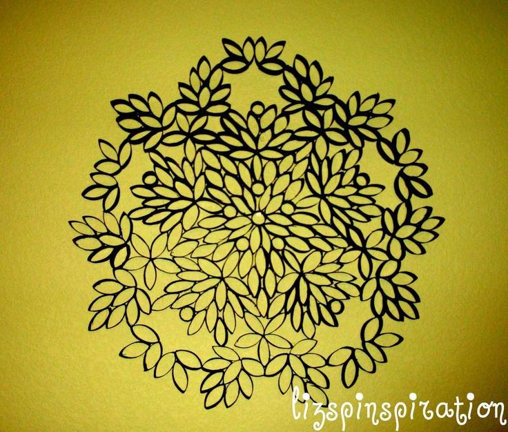 98 best Faux metal designs images on Pinterest   Paper towel rolls ...