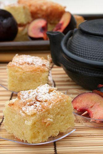 Gâteau aux amandes à la croûte craquante