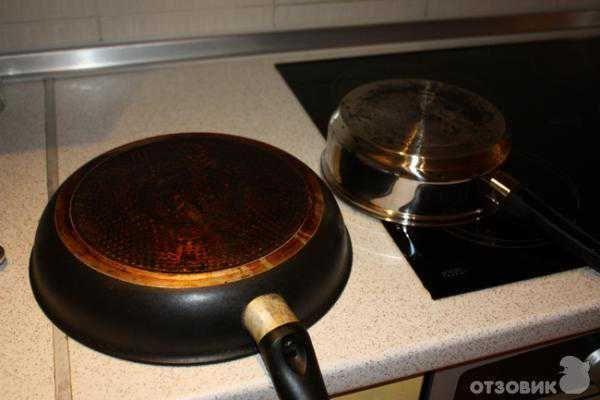 Удаление нагара с посуды