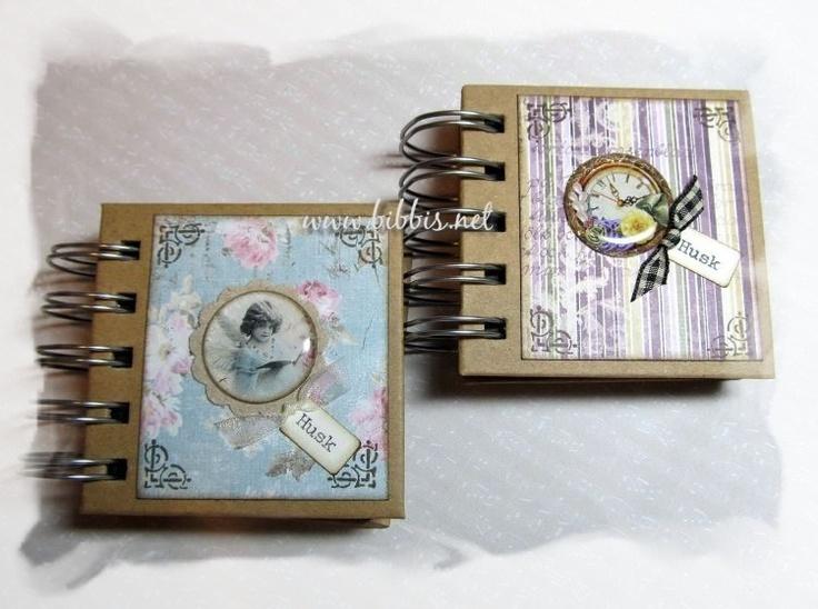 En søt liten bok med Post-it lapper i 8 størrelser.