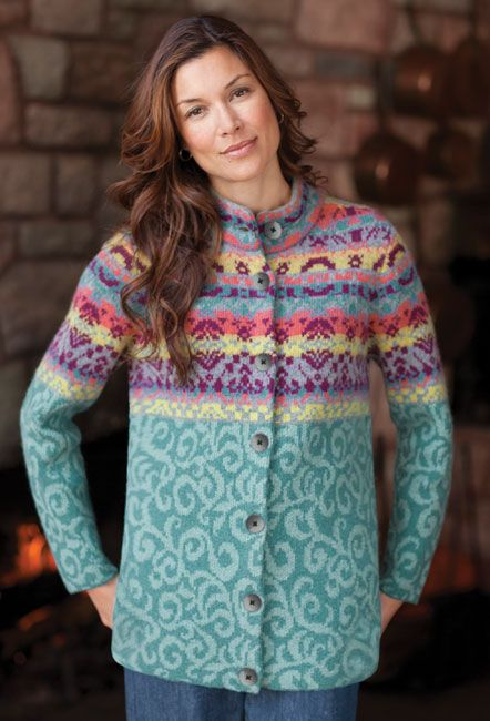 83 best Knit Fair Isle images on Pinterest | Accessories, Boating ...