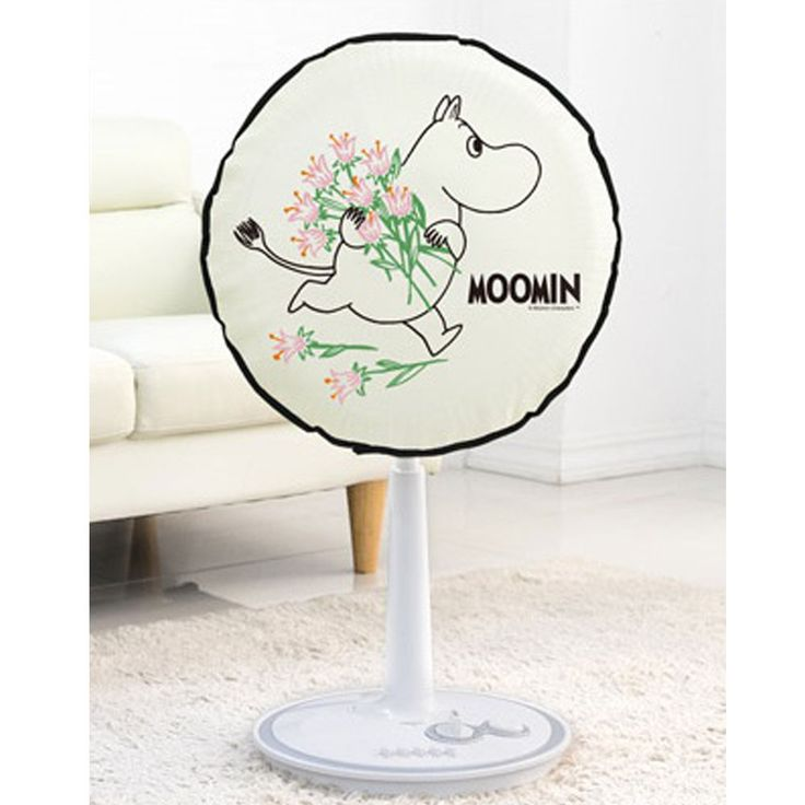 Moomin Character Electric Fan Felt Cover Diameter 48cm 19in For you #Hongok