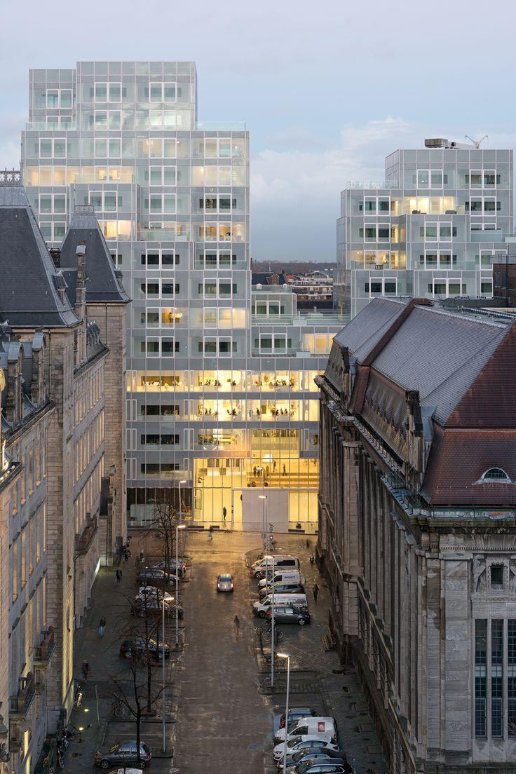 In het centrum van Rotterdam is Het Timmerhuis gerealiseerd naar een ontwerp van…