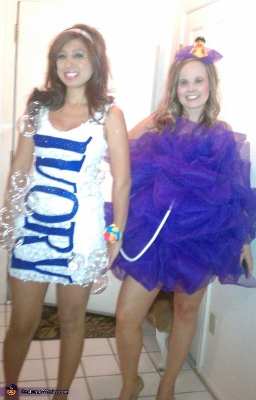 Loofah & Ivory Soap - DIY Halloween Costumes
