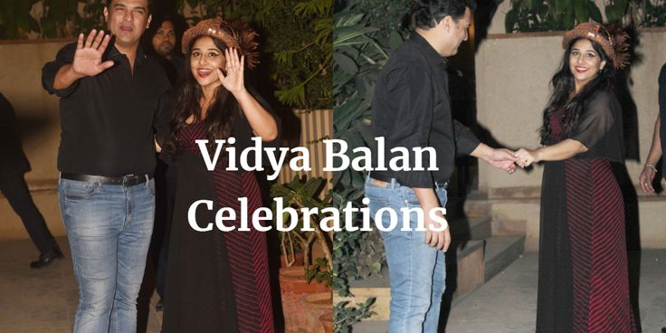 Vidya Balan celebrated her birthday yesterday with her husband Siddharth Roy Kapoor and her entire family and the actress turned 38 years old on Monday.