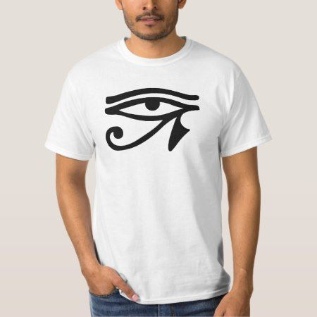 Eye of Horus ancient Egyptian symbol Ra Protection T-Shirt - click/tap to personalize and buy