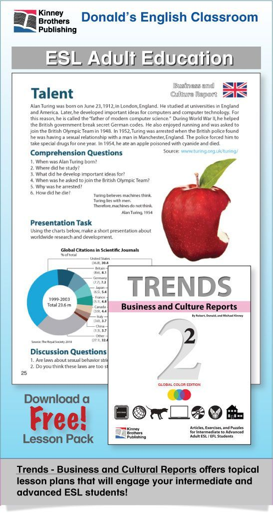 ESL Adult Readings & Exercises-Book 2-13 | Reading for ESL