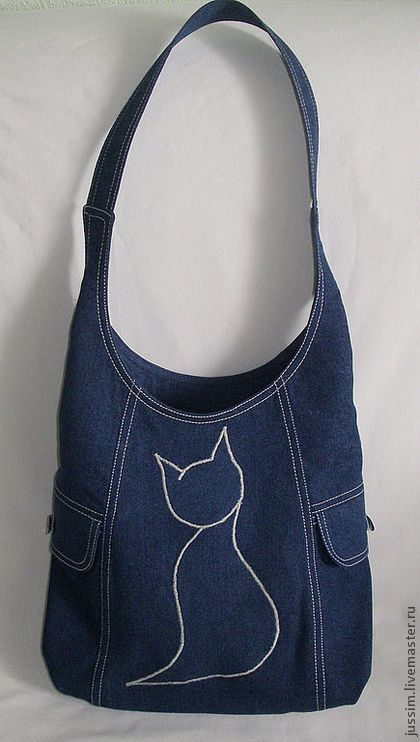 Bag from jeans. #denim #jeans