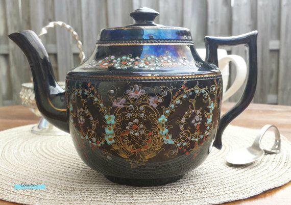 15 Best Images About Brown Or Pbb England Teapots On