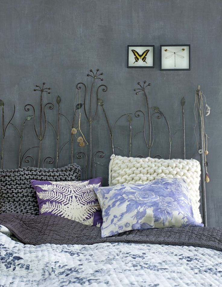 iron bed frame garden style :-)