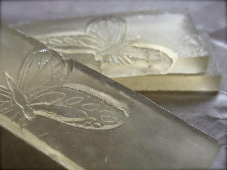 stamped MP soap