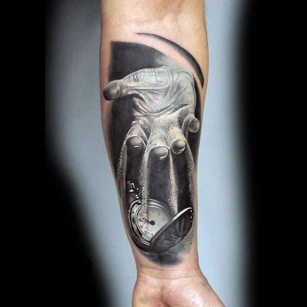 75 Schwarz-Weiß-Tattoos für Männer – Masculine Ink Designs