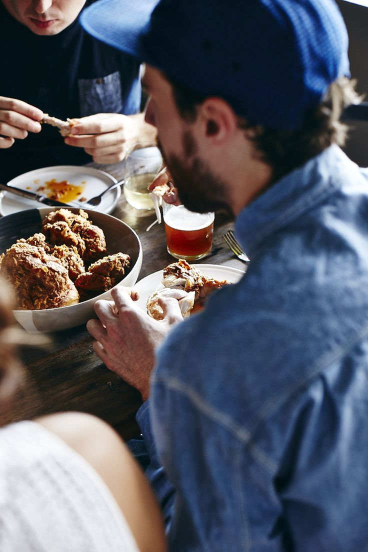 John Laurie | FRIED         CHICKEN             PARTY