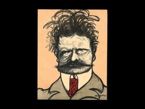 Images of  Jean Sibelius from art, caricatures, album covers, postage stamps, collectibles etc