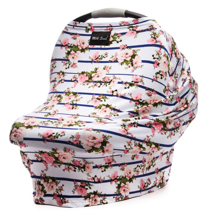 The Milk Snob® Cover is the original fitted infant car seat cover that can also be used as a nursing cover.  Use as an infant car seat cover or nursing cover.  Offers true 360 coverage.  The stylish a