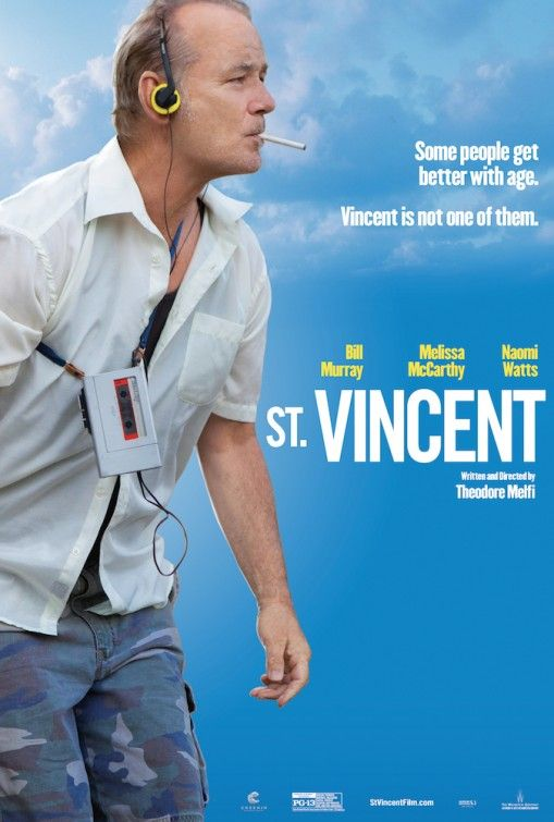 3 New Posters For 'St. Vincent' – Starring Bill Murray, Melissa McCarthy, Naomi Watts…