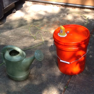 5 gallon bucket watering can