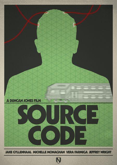 source code affiche film minimaliste