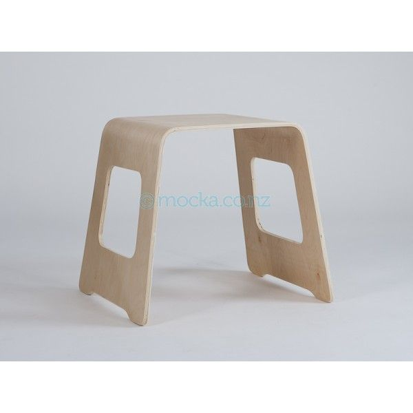 Mocka Leni Bentwood Stool   Simple, Modern Wooden Stool That Works Just As  Well As A Side Table.