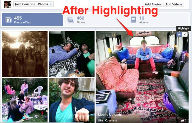 Facebook Timeline Photos Redesign Lets You Blow Up Favorites 4X Larger, Shows Tagged Shots First
