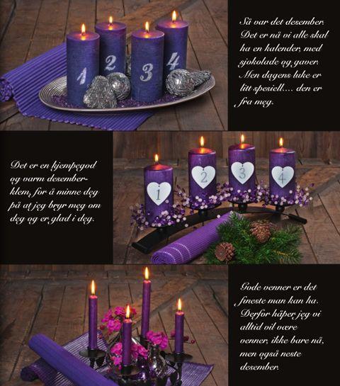 norwegian advent candles advent pinterest before. Black Bedroom Furniture Sets. Home Design Ideas