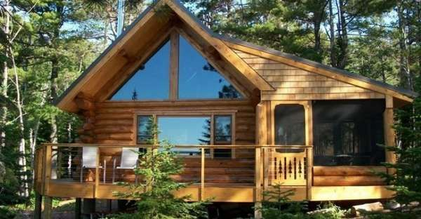 This Log Cabin will Amaze You with It's Stunning Interior and Gorgeous Surroundings