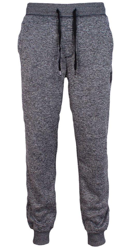Southpole Fleece Jogger Menu0026#39;s Sweatpants Marled Harem Dance Sports Baggy Pants | Dudes Only ...
