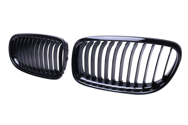 Fashion BMW GrilleGloss Black Front Kidney Grill Grille For BMW E90 E91 LCI 325i 328i 335i 4D 09-11(Pack of 2 Pcs)