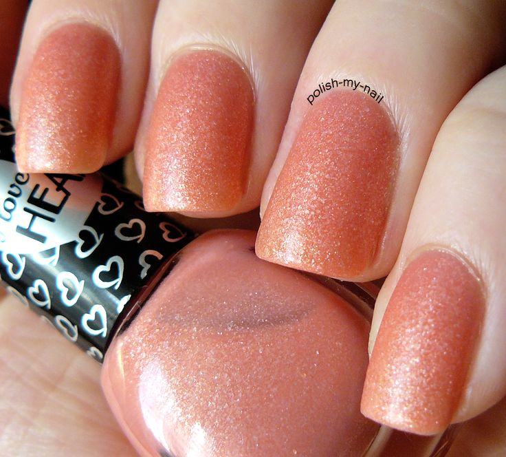 Sugar Coral nails