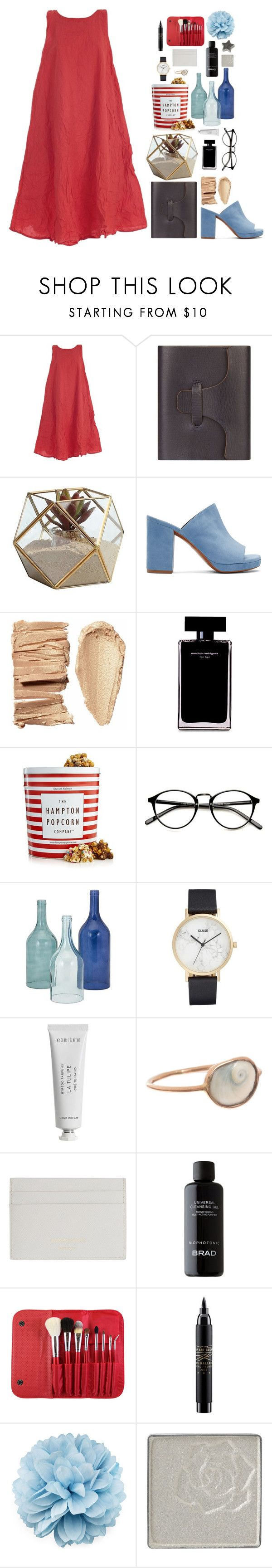 """""""like an american"""" by grandbudapest ❤ liked on Polyvore featuring DANIELA GREGIS, Hayden, Danya B, Robert Clergerie, Narciso Rodriguez, The Hampton Popcorn Company, Home Decorators Collection, CLUSE, Byredo and Dezso by Sara Beltrán"""