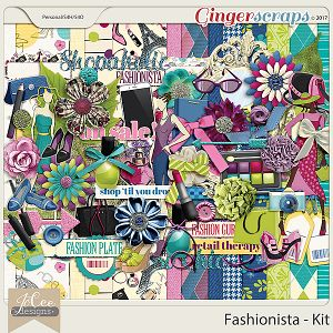 Fashionista Kit by JoCee Designs