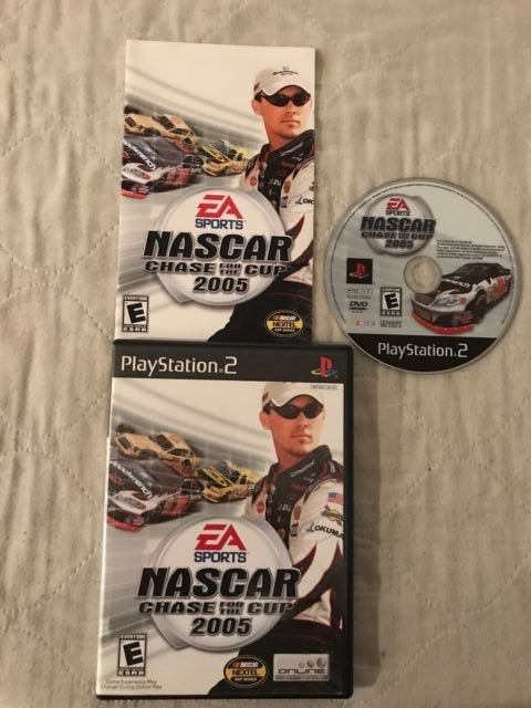 EA Sports NASCAR 2005: Chase for the Cup (Sony PlayStation 2, 2004) complete