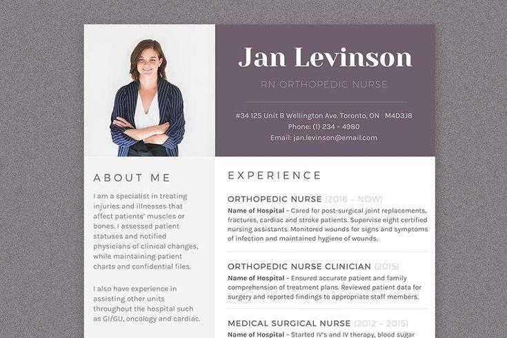 Nurse ms word resume template pkg resume template ms