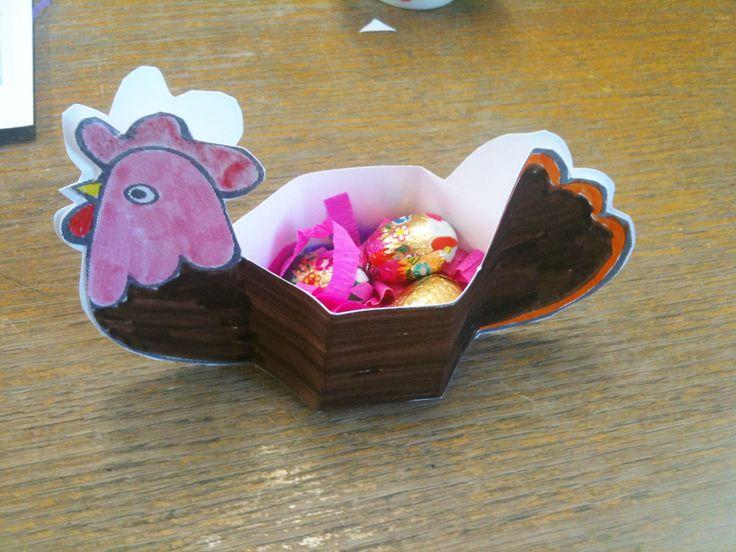 12 best brico facile pour les enfants images on pinterest diy children and projects - Panier de paques a fabriquer ...