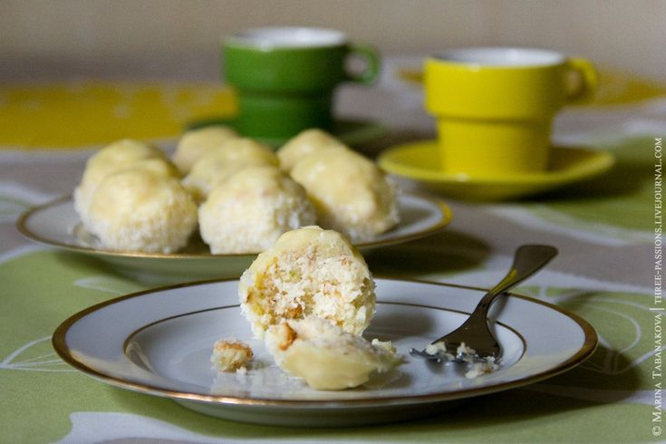 кокос лайм ром - пирожные