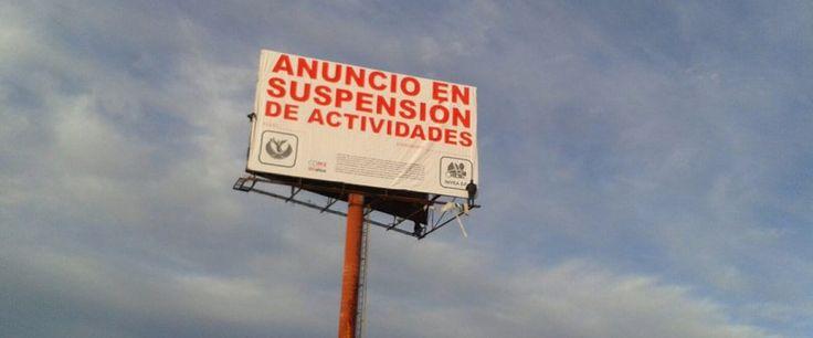 Suspende Gobierno CDMX 15 anuncios espectaculares en suelos de conservación