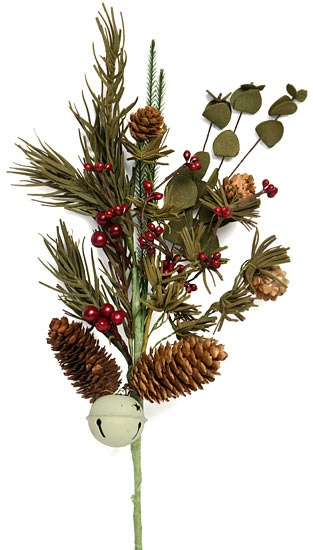 Floral pick holiday decor pinterest pine cones pine and catalog