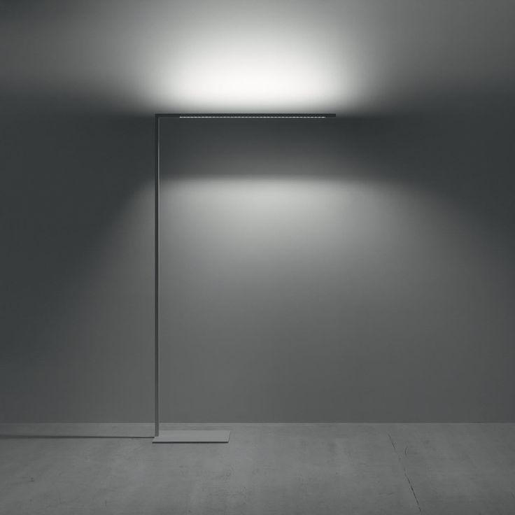 Floor-standing lamp / contemporary / aluminum / composite - LINETIK by Simon Fisher & Matt Free - ZUMTOBEL