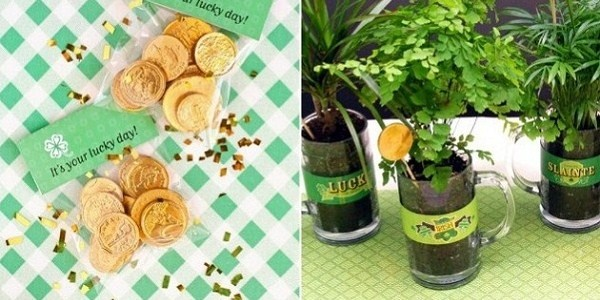 Árvore da fortuna: Gardens Ideas, Decor Ideas, Beer Mugs, Beer Glasses, Parties Parties, Parties Ideas, Events Ideas, Parties Decor, Gold Coins