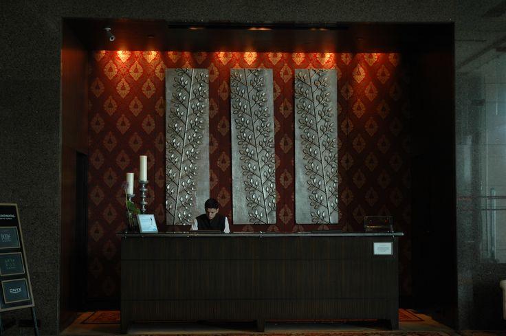 The lobby, InterContinental Marine Drive, Mumbai