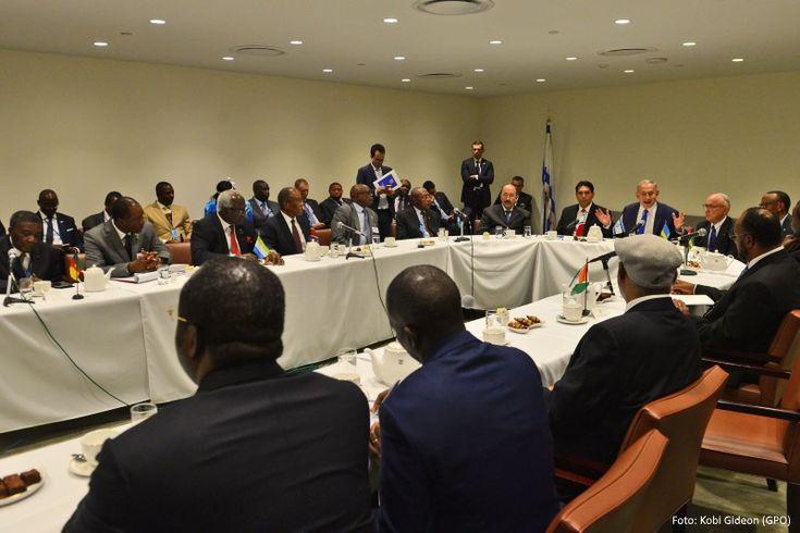 O primeiro-ministro Benjamin Netanyahu, reuniu-se na sede da ONU em Nova York, com mais de 15 chefes de Estado e representantes de países africanos.