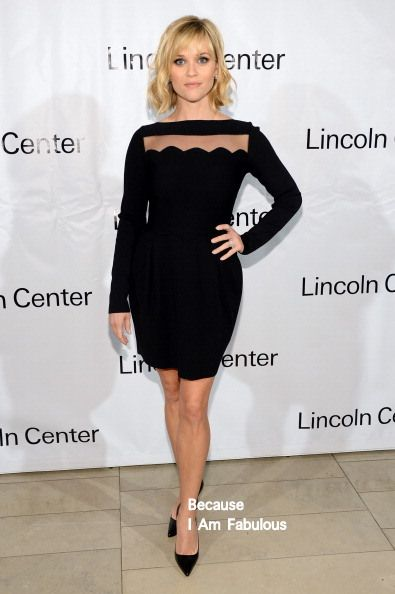 Fabulously Spotted: Reese Witherspoon Wearing Valentino - Great American Songbook Event Honoring Bryan Lourd - http://www.becauseiamfabulous.com/2014/02/reese-witherspoon-wearing-valentino-great-american-songbook-event-honoring-bryan-lourd/