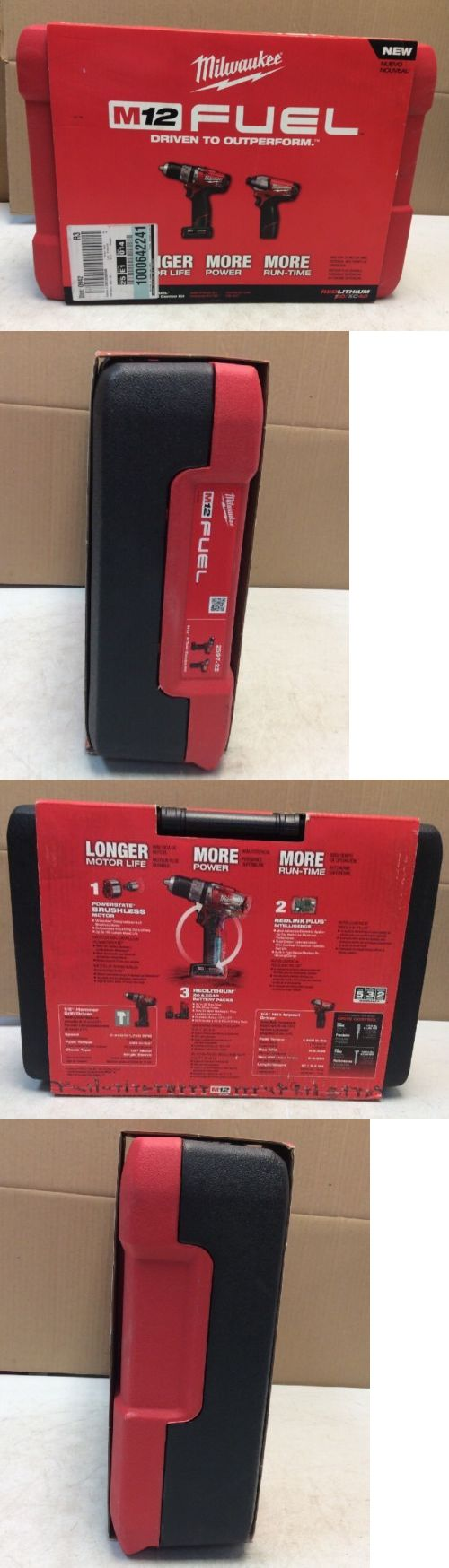 Combination Sets 177000: New Milwaukee 2597-22 M12 Fuel 2-Tool Combo Kit -> BUY IT NOW ONLY: $164.99 on eBay!