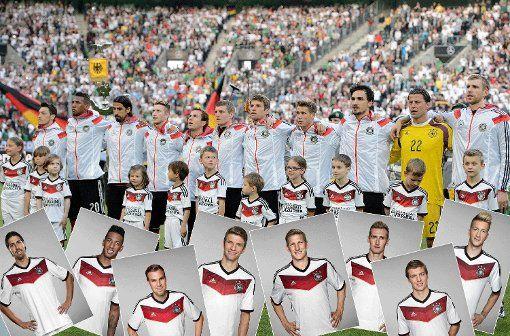 Deutsche Nationalmannschaft: Offizielle Bilder der DFB-Elf: WM-Kader für Brasilien 2014 - WM 2014 - Abendzeitung München