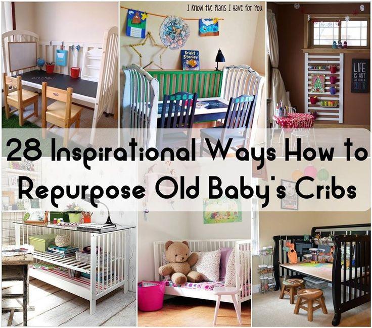 Best 25 Reuse cribs ideas on Pinterest Repurposing crib Old
