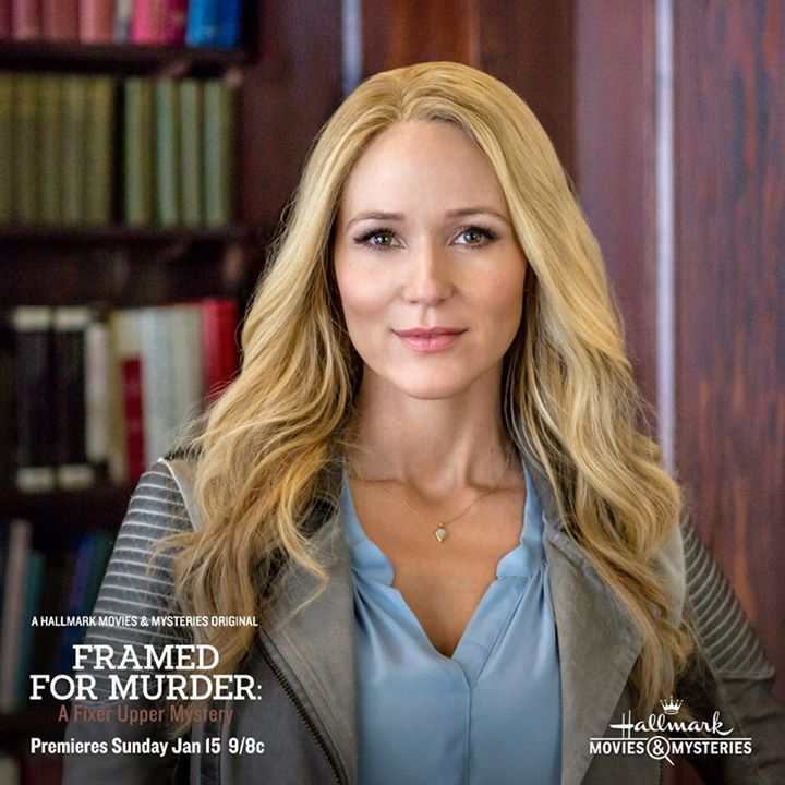 """Superstar singer Jewel is the latest addition to our lineup of super-sleuths! Don't miss her in the premiere of """"Framed for Murder: A Fixer Upper Mystery"""" next month! #movies #topmovies #gameofthrones #harrypotter #starwars #startrek #aliceinwonderland"""