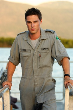 Spider.   Jay Ryan from Sea Patrol